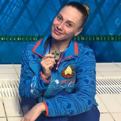Валерия Волосач - тренер по синхронному плаванию